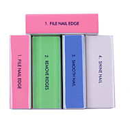 5pcs Manicure Tools Acrylics Phototherapy a Polishing Piece in All Directions Nail Polish Sponge polishing Nail File