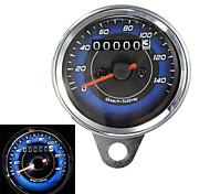 Motorcycle LED Odometer & Tachometer Meter Gauge 0-140Km/h
