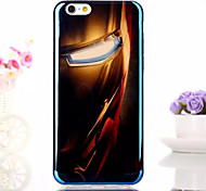 Luxury Fashion Super Blue Reflective Design TPU Soft Case for iPhone 6/6s(Assorted Colors)