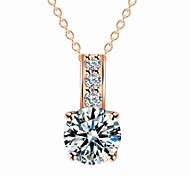 Designer Jewelry Zircon Pendant Necklace Satement Necklace