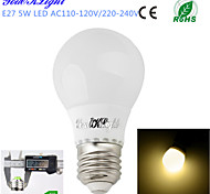 YouOKLight® 1PCS E27 5W 10*5730 420LM 3000K Warm white Light Energy saving  high quality Ceramic LED bulbs