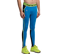 Vansydical Men's Quick Dry Fitness Bottoms Green / Gray / Blue / Orange