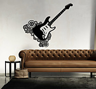 Музыка / Геометрия Наклейки Простые наклейки,vinyl 43*46cm
