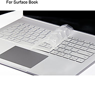 XSKN Ultra Thin Clear Transparent TPU Keyboard Skin Translucent Keyboard Skin for Microsoft Surface Book, US layout