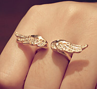 New Arrival Fashional Rhinestone Wing Ring