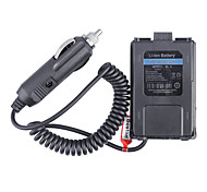 Baiston BL-5 Car Charger Battery Eliminator Adapter for Walkie Talkie - Black