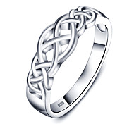 Fashion Simple Party Accessories 925-Sterling-Silver Rings For Women&Lady