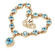 Crystal / Alloy Bracelet Chain & Link Bracelets / Vintage Bracelets Wedding / Party / Daily / Casual 1pc