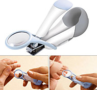Deluxe Nail Clipper with Magnifier Baby Product