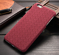 New Business Grid Lines Hard Cover Case For Apple iPhone 6 / 6S (Assorted Color)