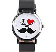 la venta de la historieta linda auténtica moda mujeres barbudas reloj