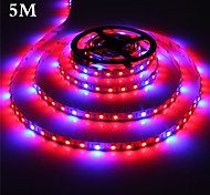 1Pcs MORSEN®5 Meter Grow LED Flexible Strip Tape Light 4 Red :1 Blue Aquarium Greenhouse Hydroponic Plant Growing Lamp