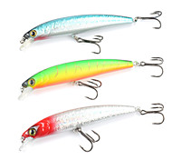 Mizugiwa Bass Fishing Lure Plastic Crank Bait Floating Minnow Pack of 3
