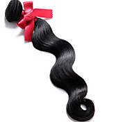 Brazilian Virgin Body Wave Hair Weaving Extension 100g/pcs 1B Color 100% Human Hair Wave Brazilian Hair Weave Bundles