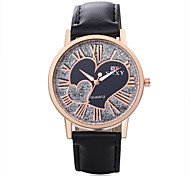 2016 New Woman'S Wrist-Watches Fashion Characteristic Heart Watch Wrist Watch Leather Watch Unique Men'S Watches