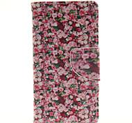 muchas flores teléfono celular del diseño cubierta de la caja para wiko puesta del sol 2