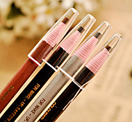 1Pcs Convenient And Durable Waterproof Pull Pull Eyebrow Pencil Pen Pencil Can Be Torn Off Without A Pencil Sharpener