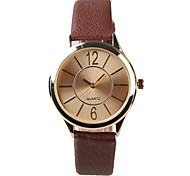 Manufacturers Selling Fashion Ladies Watch Brown Belt