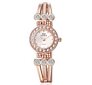 Women' Quartz Watch Fashion Wrist Watches Flower Bracelet Watch Wristwatch Clock Quartz Watch Cool Watches Unique Watches
