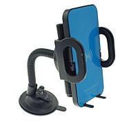 caricatore senza fili Qi auto con supporto per iPhone EDGE 6 / Samsung Galaxy S6