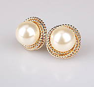 New Arrival Fashional High Quality Spiral Pearl Earrings