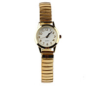 Simple Elastic Belt Gold Women's Watch Cool Watches Unique Watches