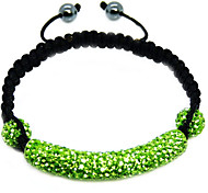 Crystal Jewelry Strand Beads Bracelets For Women color Crystal AB Clay Ball Bracelet&brangle charm xb-353