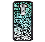Blue Leopard Print Design Metal Hard Case for LG L90/ G3/ G4