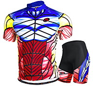 NUCKILY Cycling Tops / Clothing Sets/Suits / Jerseys / Shorts Unisex BikeWaterproof / Breathable / Ultraviolet Resistant / Waterproof