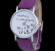 donna di marea alfabeto corrente orologio da polso