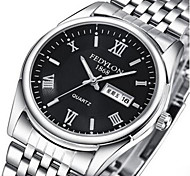 FEDYLON steel strip waterproof dual calendar man watch Wrist Watch Cool Watch Unique Watch