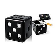 universale stile modellazione cubo auto sigaretta sigaro portacenere dadi con base rimovibile e biadesivo