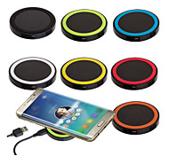 Q5  Wireless Charging Charger Power Pad For iPhone 6s 6 for Samsung Galaxy S6 S5 S4 S3 Note 5 4 3 for LG Nexus for Nokia