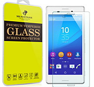 mr.northjoe® filme protetor de tela de vidro temperado para Sony Xperia m4