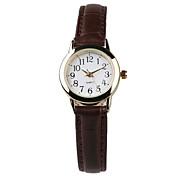Fashion Beautiful Brown Belt Ladies Watch