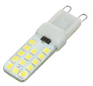 Marsing® G9 Silicone 5W 400lm 6500k 28x SMD 2835 LED White Light Bulb Lamp (220-240v)