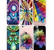 MAYCARI®World of Colors Soft Transparent TPU Back Case for iPhone 6/iphone 6S(Assorted Colos)