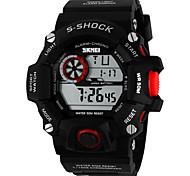 Multi-Function Sport Watch Diving Waterproof Watch (Assorted Color)
