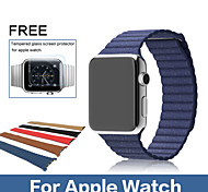 Original Genuine Leather Milanese Loop Watchband Strap For Apple Watch for iwatch