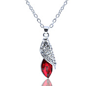 Women's Fashion Crystal Pendant Necklace 1pc