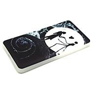 Для Кейс для Nokia Сияние в темноте Кейс для Задняя крышка Кейс для Череп Мягкий TPU Nokia Nokia Lumia 540
