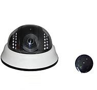 1000 tvl 1/4 di colore CMOS ir tagliato 3,6 millimetri cupola lente cctv di sicurezza video w41-10