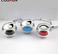 Colorful lamp Bluetooth speaker crystal ball small cylinder mini portable