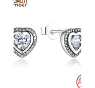 New Arrival Original 925 Sterling Silver Stud Earrings Compatible with Jewelry Authentic Gift