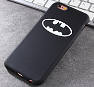 New Batman Pattern Green Vinyl Material Does Not Fade Tide Phone Case for iPhone 6 / 6S