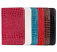 Crocodile Grain Design PU Leather Sheath for Samsung GALAXY Tab 4 T330 8.0(Assorted Color)