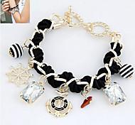 Fashion Jewelry Popular Crystal Weave Bracelet