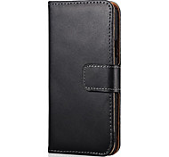 Genuine Leather Wallet Style Case for Samsung Galaxy A5