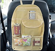 ZIQIAO Portable Waterproof Vehicle Seatback Bag Finishing With Pockets Car Seat Compartment Pouch
