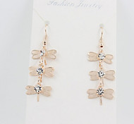 New Arrival Fashional Dragonfly Tassel Earrings